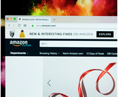Website von Amazon